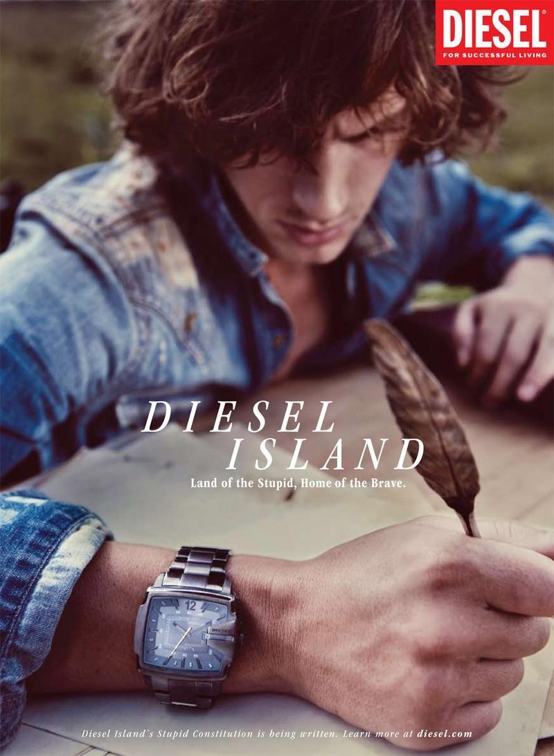 "Diesel Watch# ""Only the Brave""# https://www.facebook.com/lojawhite.guimaraes"