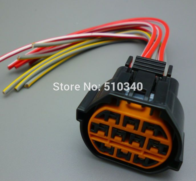 For Hyundai For Kia K2 Headlight Plug 10p 10pin Wire Harness Electrical Connector Car Electronics Hyundai Electronic Accessories