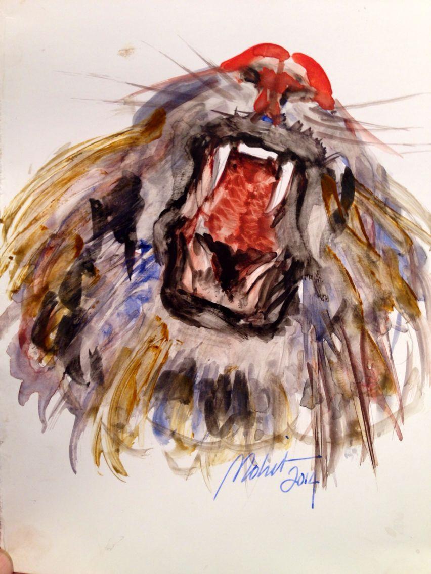 Watercolor By Reza mohit