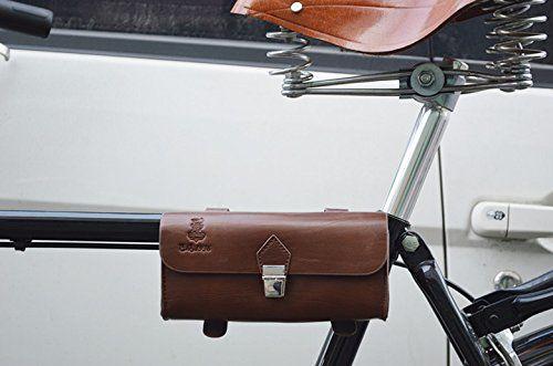 Vintage Style Pu Leather Bike Saddle Bag Seat Bag Tail Pouch Bike Saddle Bags Bags Vintage Bike