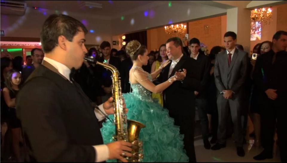 Valsa para debutante com Saxofone!