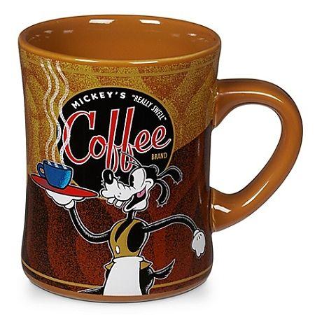 Disney Coffee Mug - Mickey's Really Swell Coffee Brand - Goofy #deptodublin