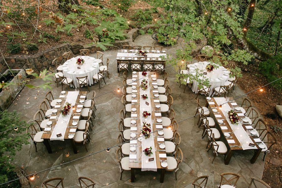 Rustic Outdoor Barn Wedding