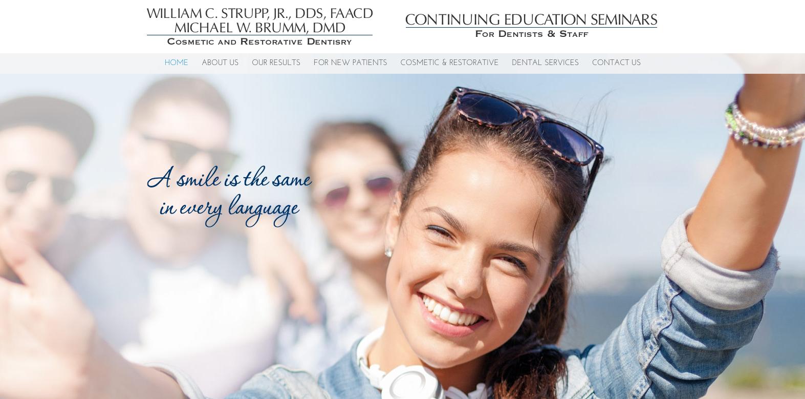 sesamewebdesign psds dental responsive white blue
