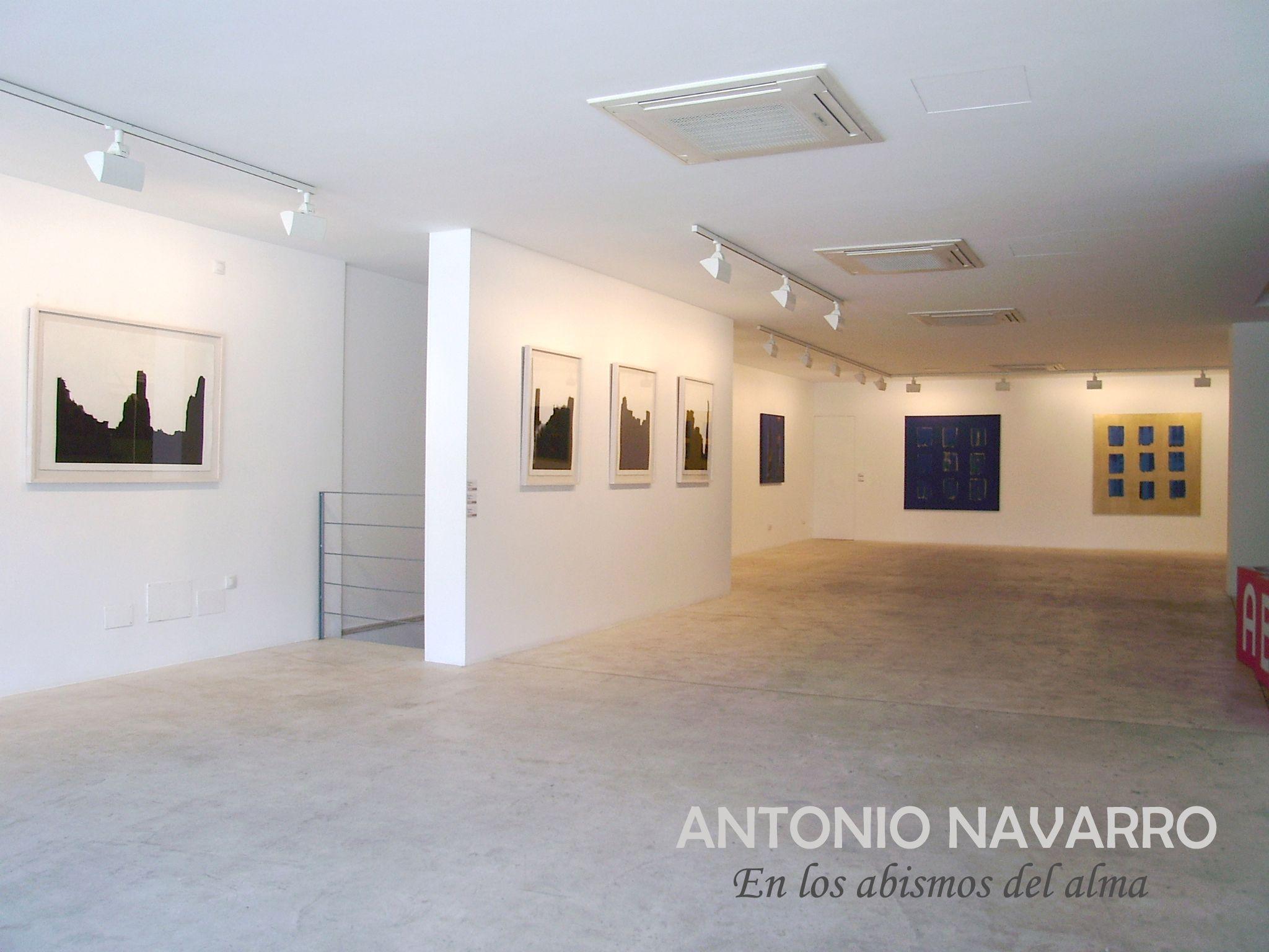 Exposición EN LOS ABISMOS DEL ALMA de ANTONIO NAVARRO (2006)