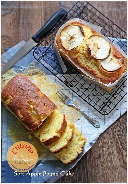Soft Apple Pound Cake