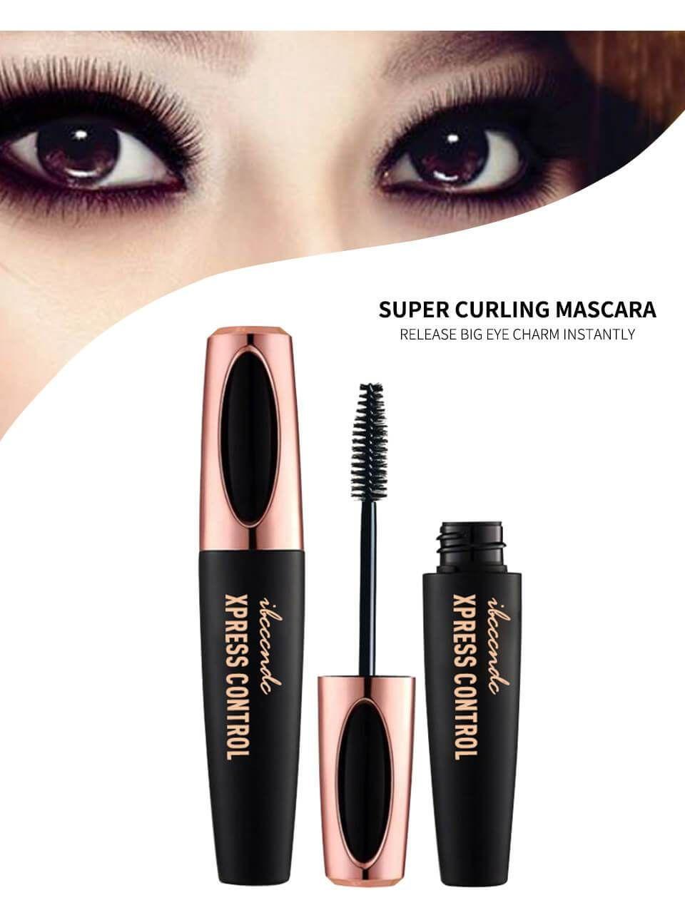 8b66b11f5a1 New 4D Silk Fiber Lash Mascara Waterproof Rimel 3d Mascara For Eyelash  Extension Black Thick Lengthening Eye Lashes Cosmetics