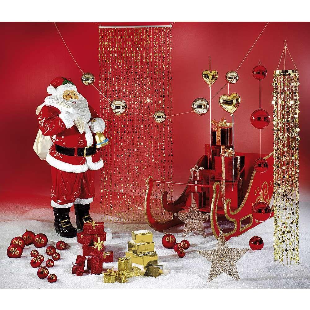 Weihnachtskugeln Xxl.Einfach Inszeniert Und Dennoch Ein Eyecatcher Der Weihnachtsmann In