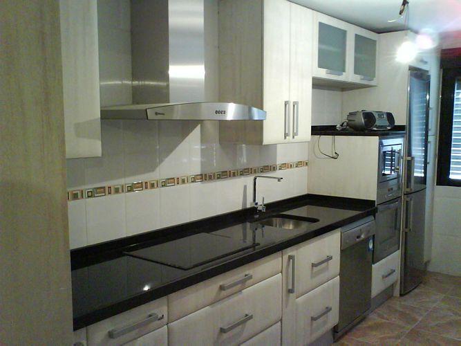 diseño de #cocinas Diseño de cocinas en Valdemoro pvc de cape modelo ...