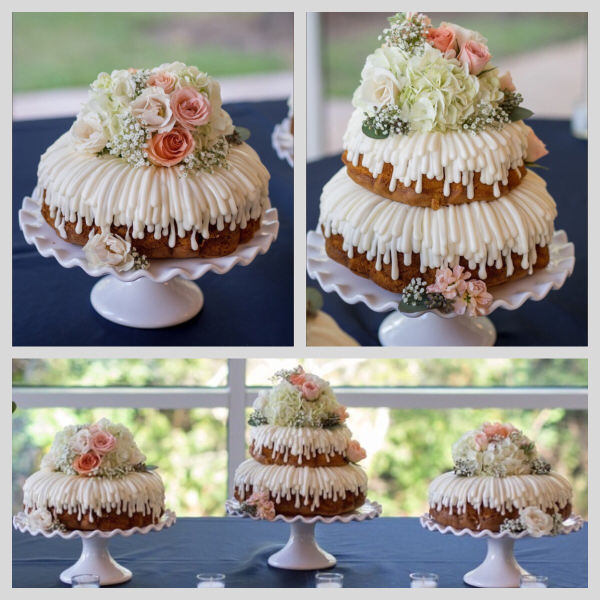 Nothing Bundt Cakes Wedding Cake Ours Was So Beautiful With The