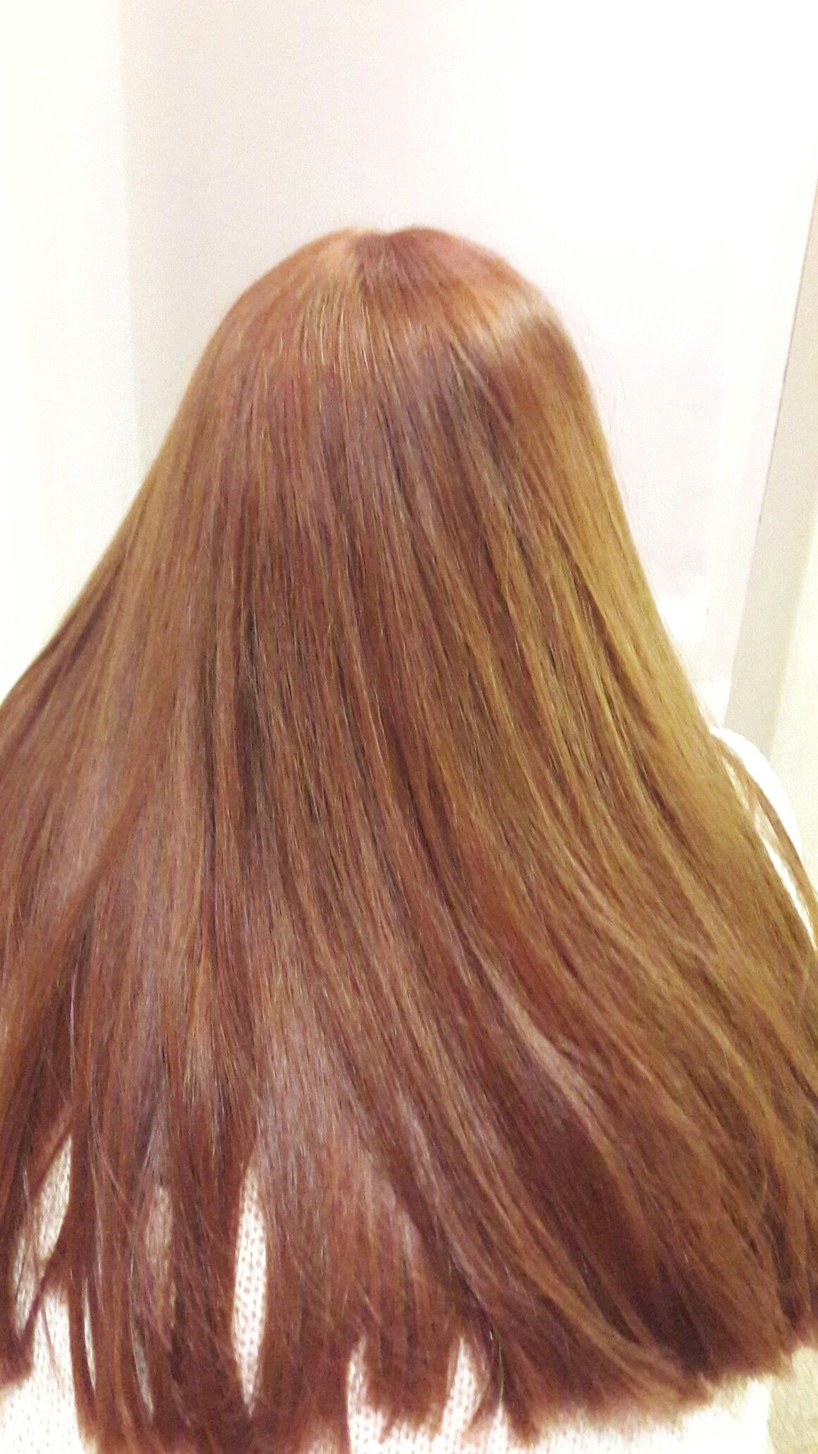 Wella 6 34 Copper Hair With Images Hair Styles Long Hair