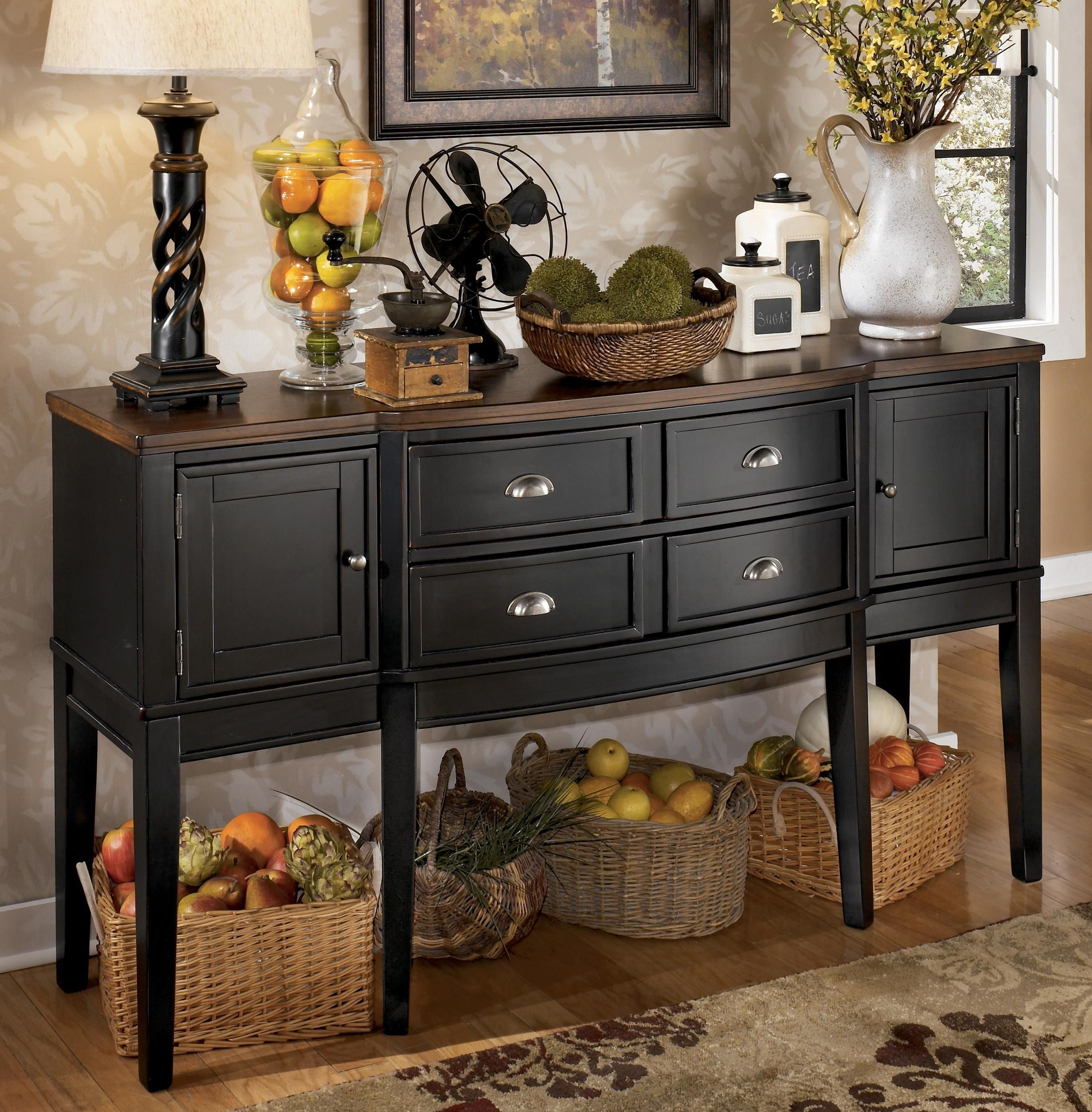 Owingsville dining room server by signature design by for Comedores ashley