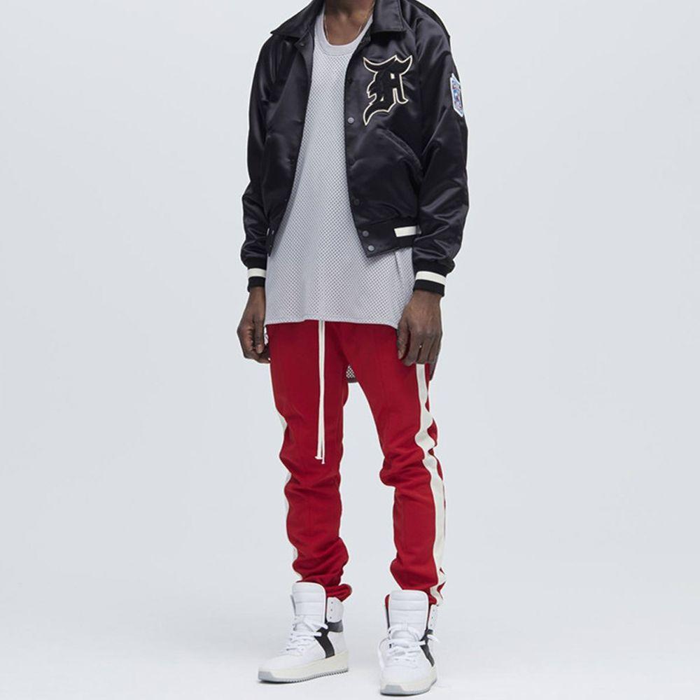 39.99US $ |Mens Hipster Hip Hop Drawstring Ankle Zipper Elastic Straight Pants Zipper Pockets Patchwork Casual Full Length Pants|pants zipper pockets|straight pantszipper pocket pants - AliExpress