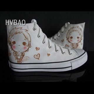 High-Top Canvas Sneakers from #YesStyle <3 HVBAO YesStyle.com