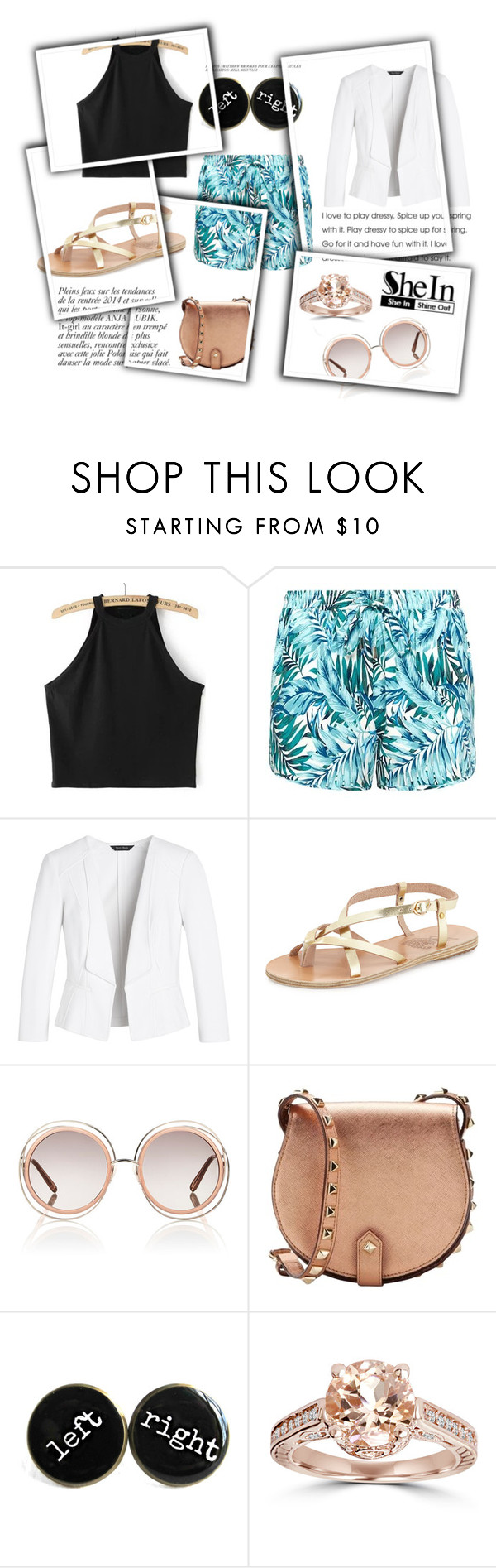 Black Tank Top By Isis Anubis5 Liked On Polyvore Featuring Anja White