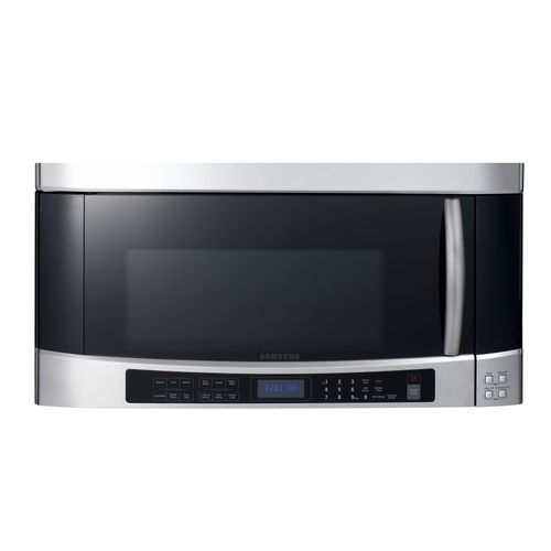 Lowes Samsung 2 0 Cu Ft Over The Range Microwave Color Stainless Steel 359 10