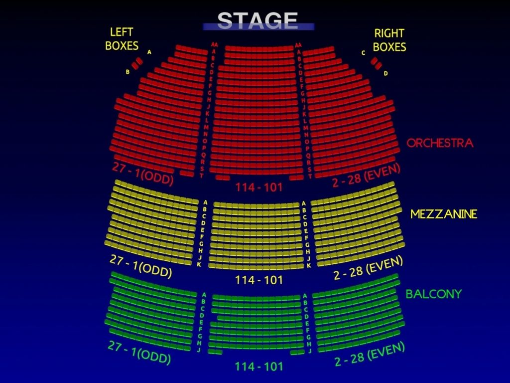 Awesome As Well As Stunning Shubert Theater Boston Seating Chart