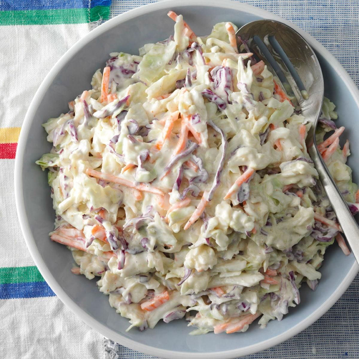 10 Easy Cole Slaw Recipes And Other Cabbage Recipes: Creamy Coleslaw, Best