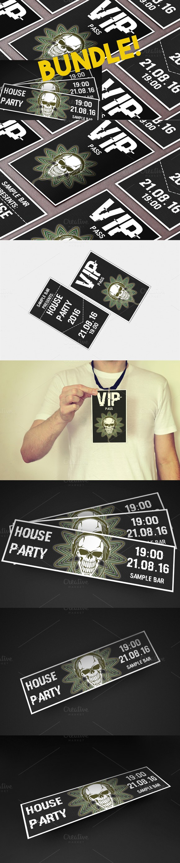 House Party Ticket&VIP pass bundle | Vip pass and Party tickets