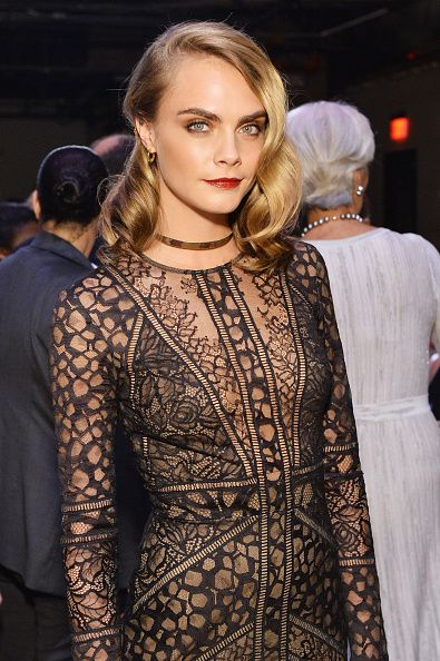 Celebrity Party make up and hair inspiration  Cara Delevigne looks chic on the red carpet this week