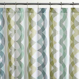 Marissa Shower Curtain I Crate And Barrel