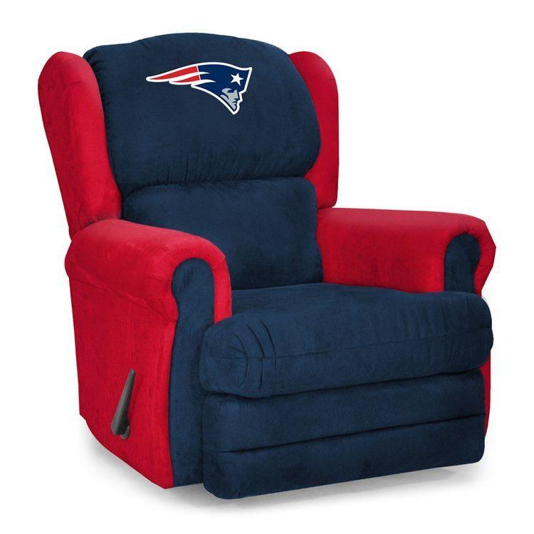 New England Patriots Microfiber Coach Recliner