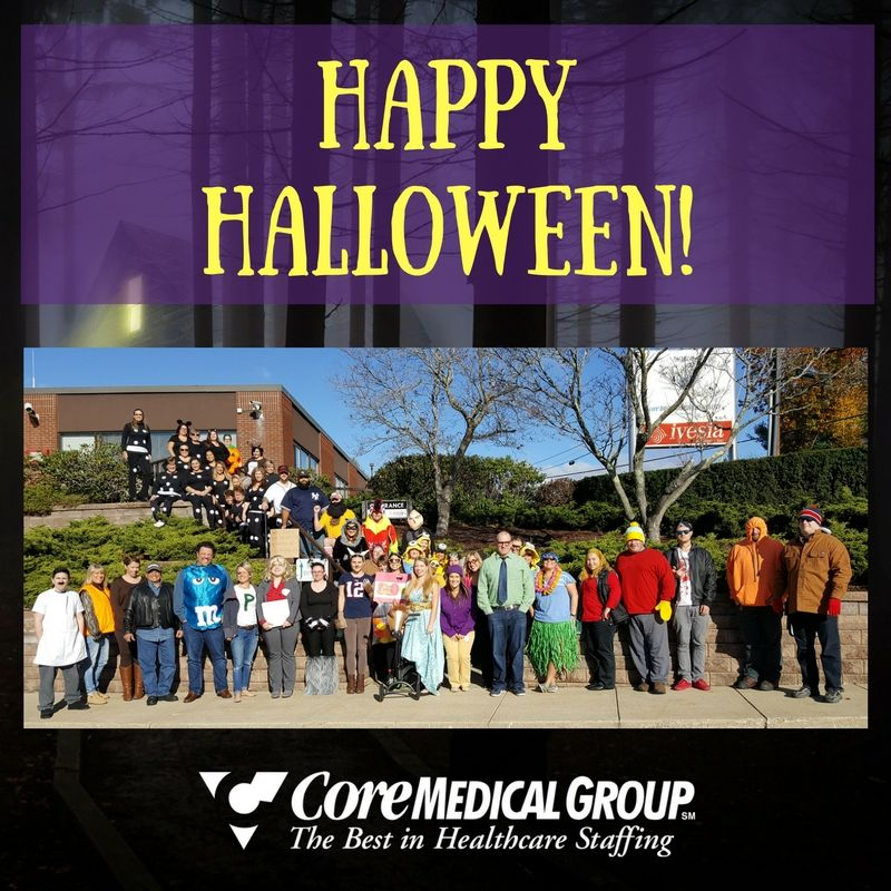Happy halloween from coremedical group travel nurse