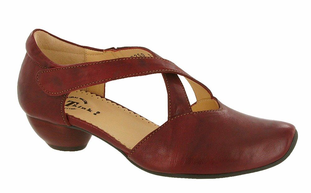 cb6cdbd8 Think Aida 80250 (Fatale) Ladies Touch Fastening Court Shoe | shoes ...
