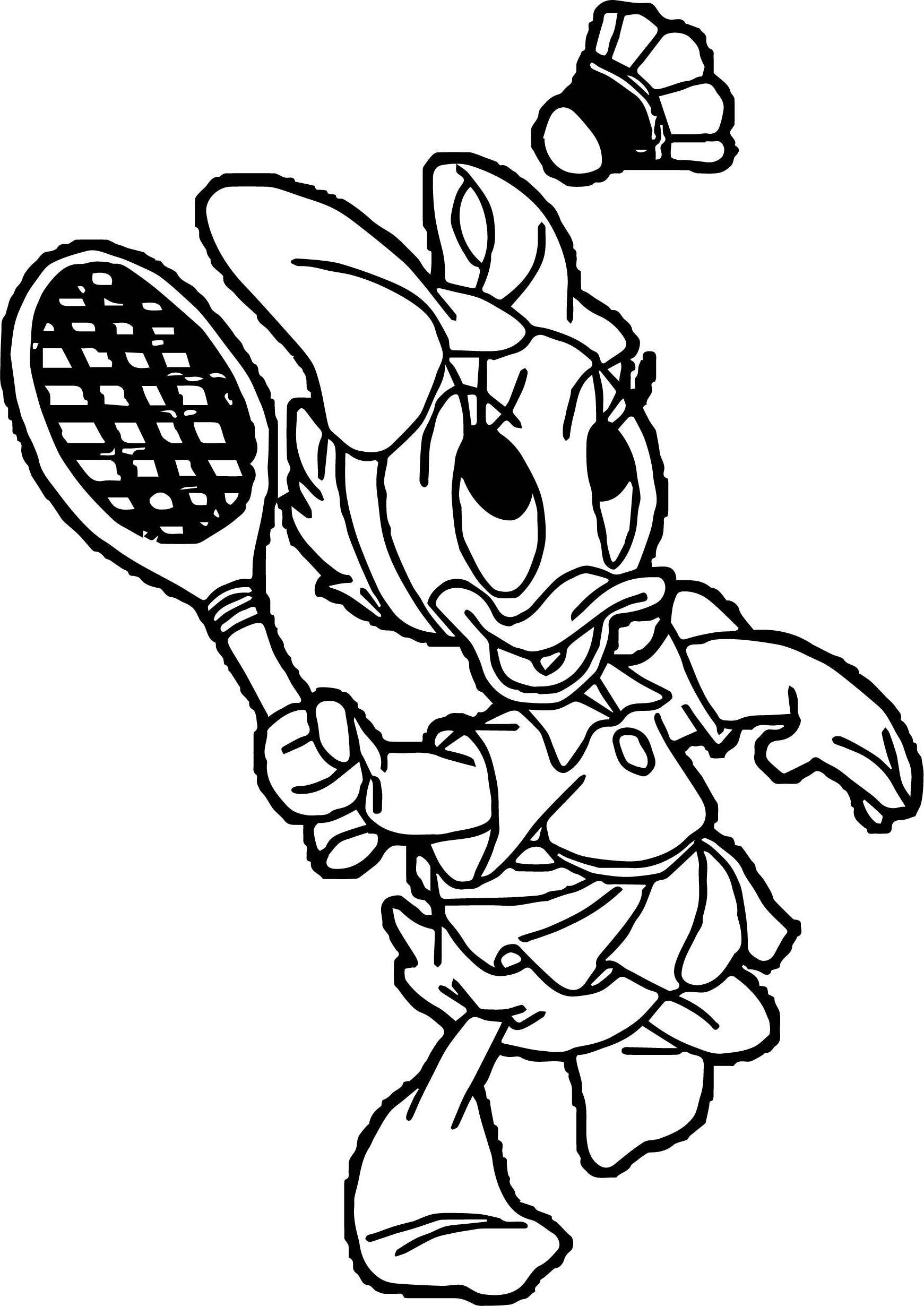 Badminton Schläger Ausmalbilder - Ultra Coloring Pages | 2460x1741