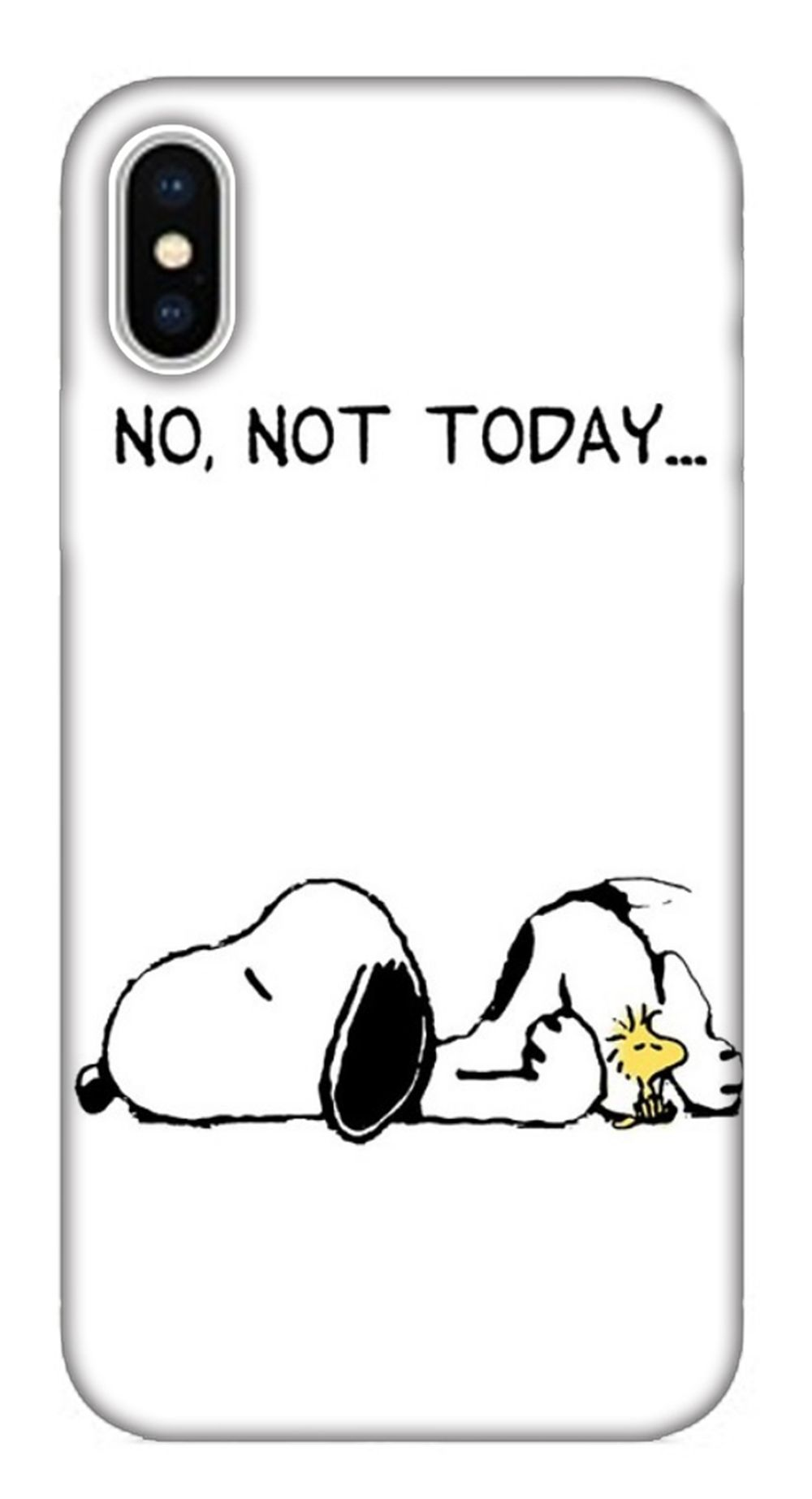 25 cutest iphone x wallpaper case cover ever - not today snoopy