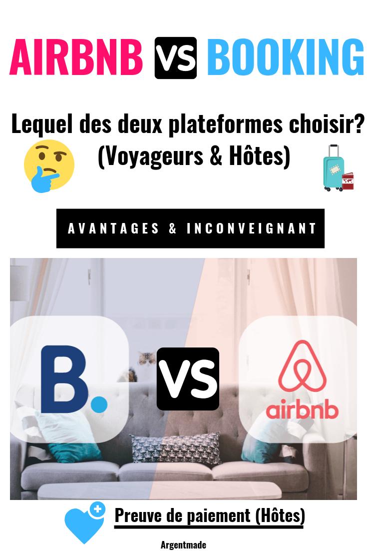 Airbnb Ou Booking Lequel Des Deux Plateformes Choisir Voyageurs Hotes Airbnb Hotes Voyageur
