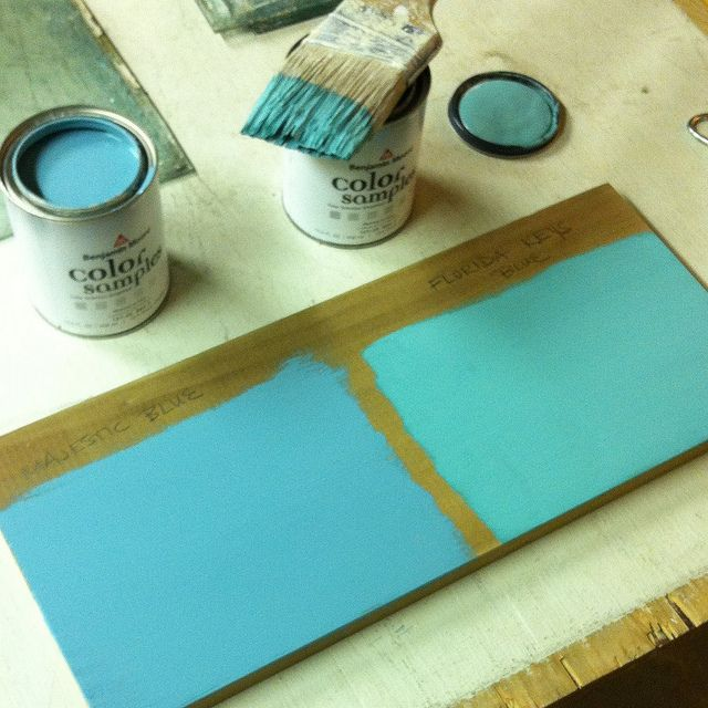 Florida Keys Blue From Benjamin Moore For The Kitchen