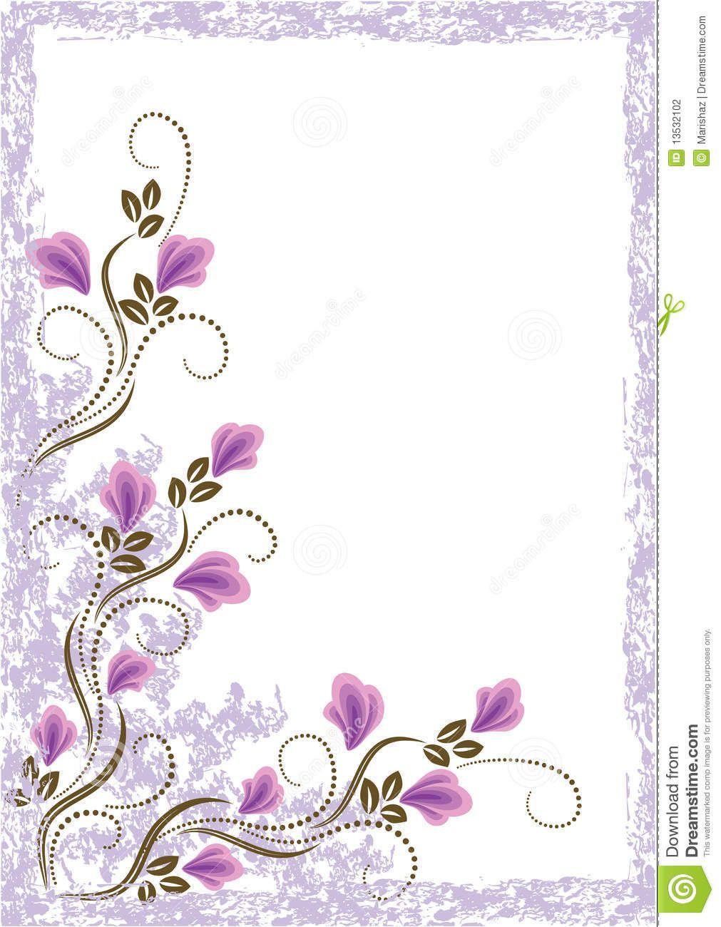 Resultado de imagen para flores bonitas para tarjetas Things I love Marcos para trabajos