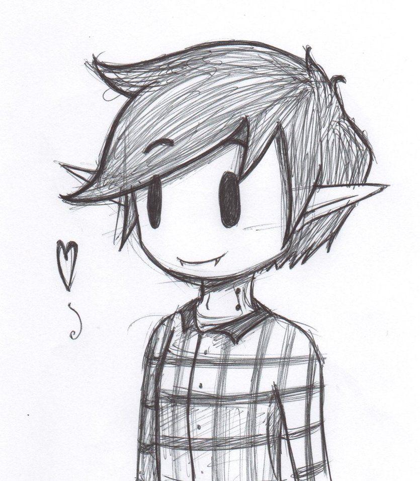 Little Boy Drawing Tumblr