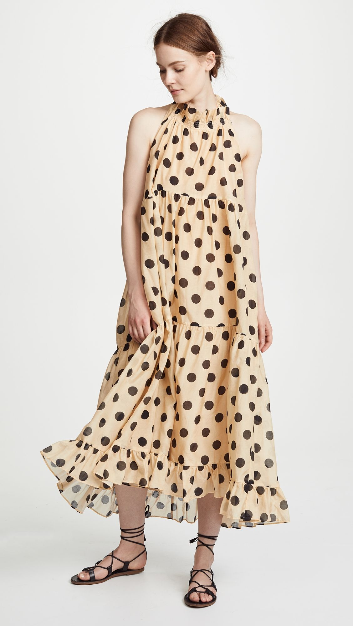 d3c1be2c2f8 Minnie Spot Halter Dress | Polka Dot Fashion | Dresses, Chloe dress ...