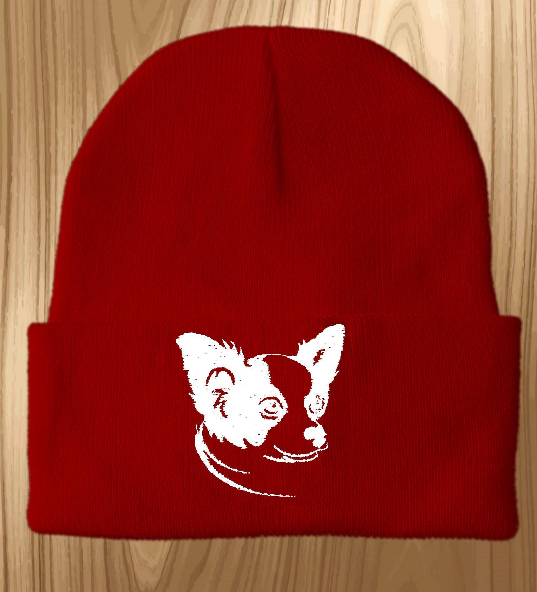 fb93bf190b0 Chihuahua Knit Ski Ha  chihuahua Knit Ski Hat
