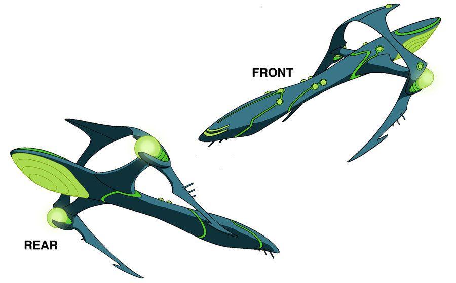 Ben 10 Alien ship design by `Devilpig on deviantART ...