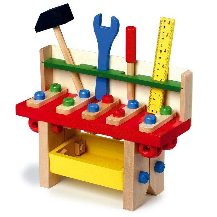 banco de trabajo de madera de juguete para nios este tipo de juguetes