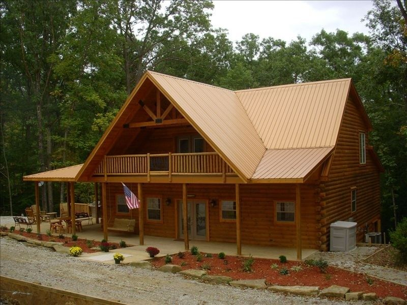 Luxurious Log Home- the Log Home You've... - VRBO