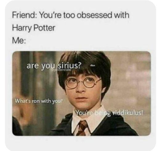 Jeder wahre Harry Potter Fan kennt sie, unglaublich lustige Bilder ru… #humor # Humor # amreading # books # wattpad