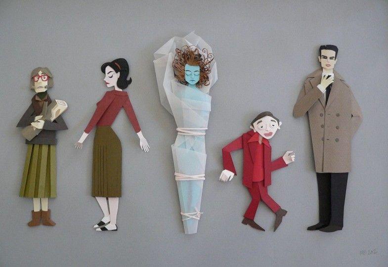 Twin Peaks fan art by Megan Brain
