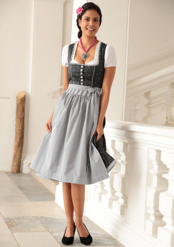 turi landhaus dirndl midi mit blumendruck im otto online shop oktoberfest pinterest. Black Bedroom Furniture Sets. Home Design Ideas