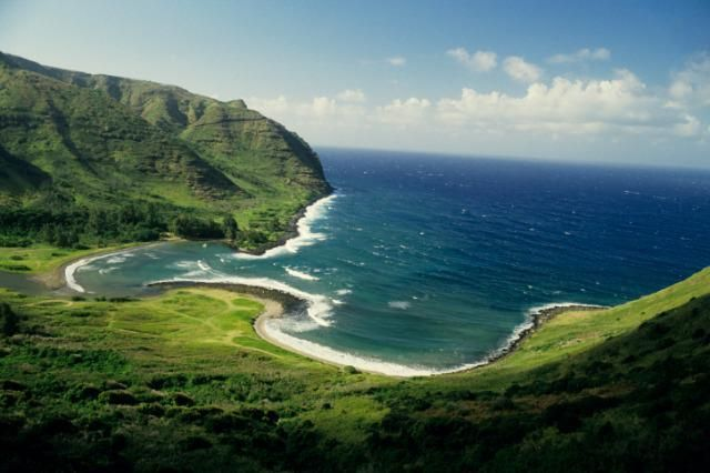 Beautiful Landscape photography : Halawa Bay Molokai Hawaii