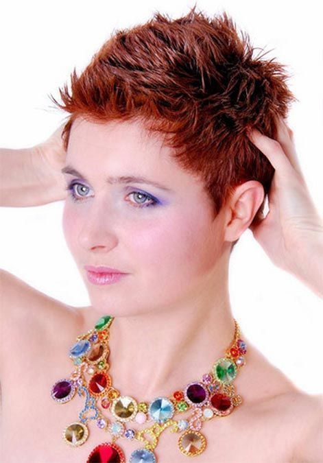 haircut curly hair image result for ultra spiky pixie cuts cuts 3292