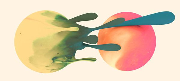 """"""" Santtu Mustonen """" for Flow Festival on Behance, by Hugo & Marie - http://hugoandmarie.com/"""