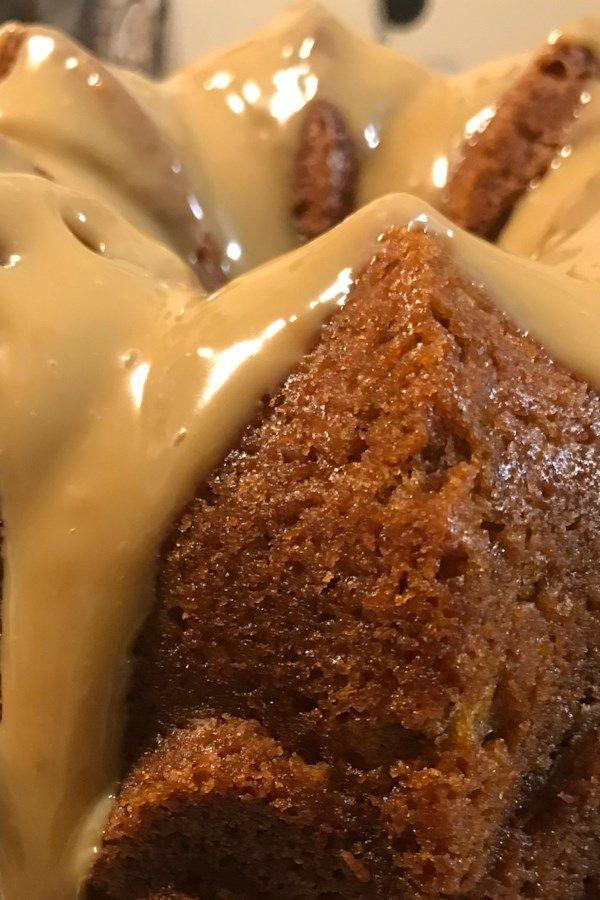 Apple Honey Bundt Cake Receita Receitas Comida Caseira E