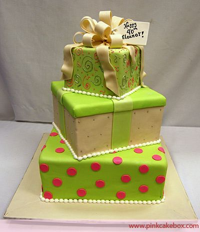 Cake Box Decorating Ideas Birthday Box Cake » Birthday Cakes  Birthday Box Boxed Cake And Cake