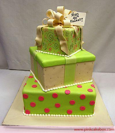 Birthday Box cake Birthday Cakes Boxed cake Cake and Birthdays