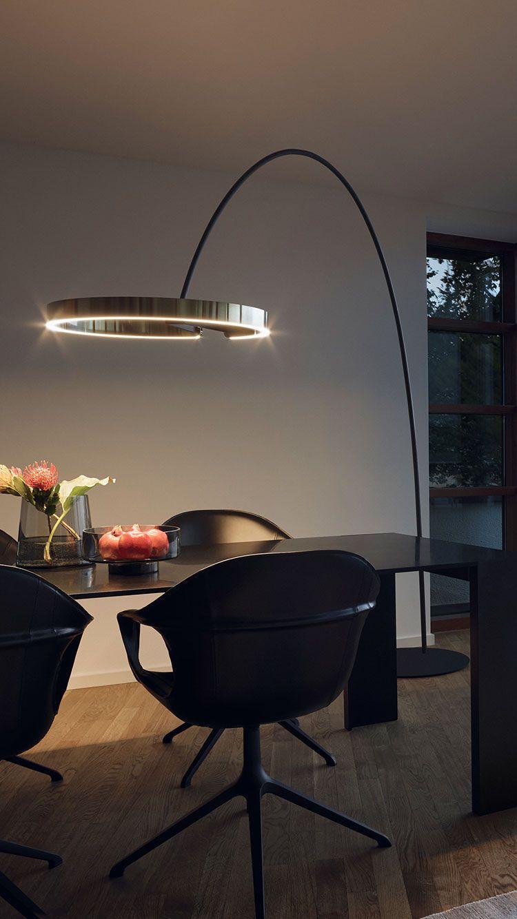 Mito Largo Design Esszimmer Bogenleuchte Bogenleuchte Bogenlampe Wohnung Esszimmer