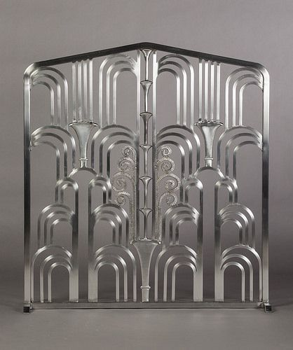 ART DECO Grill (Fireplace Screen) made in the style of ...